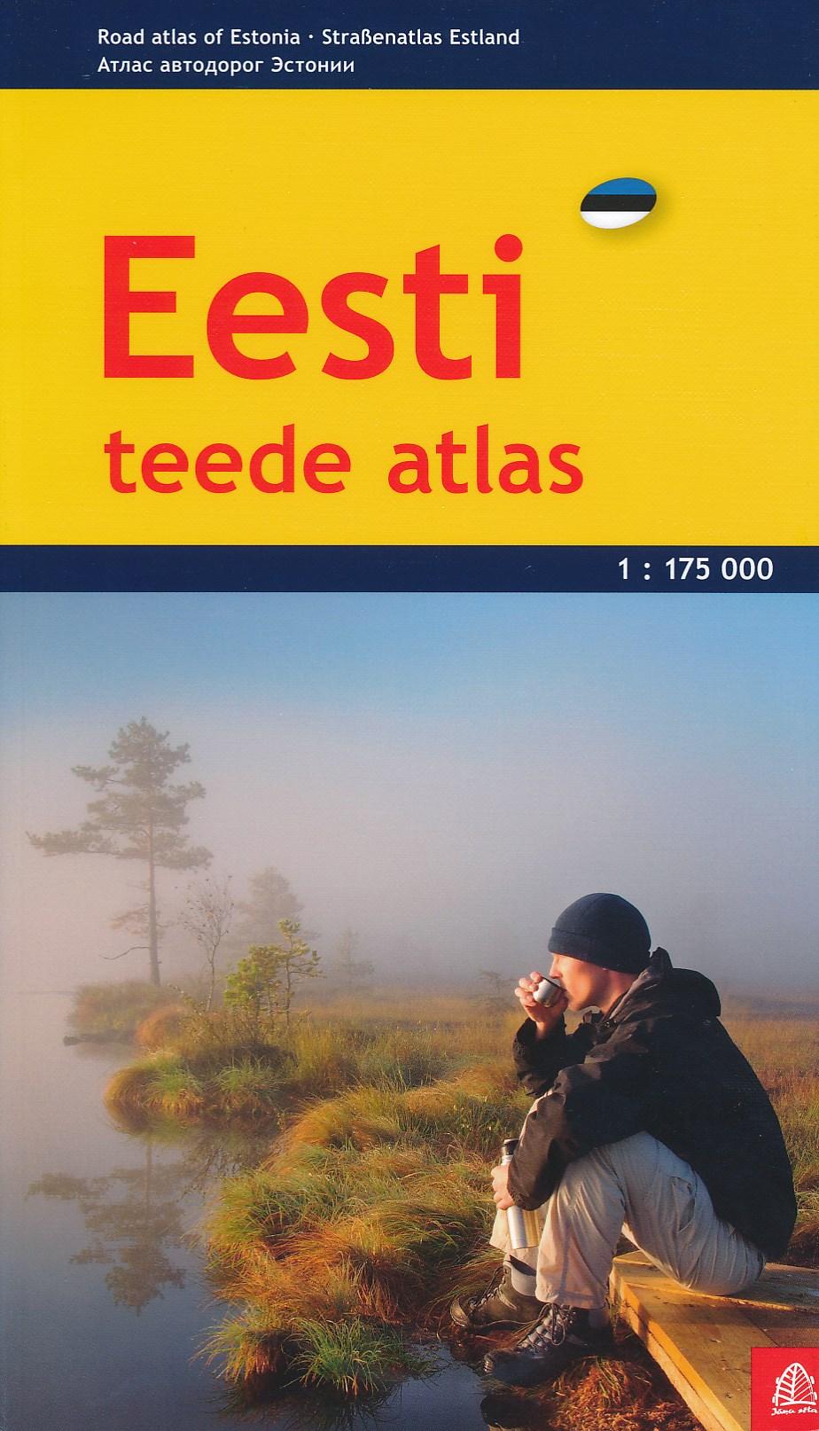 Wegenatlas Estland   Jana Seta
