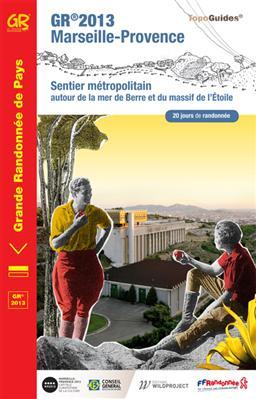 Wandelgids GR 2013 Marseille-Provence   FFRP