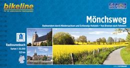 Fietsgids M�nchsweg von Bremen nach Fehmarn   Bikeline - Esterbauer