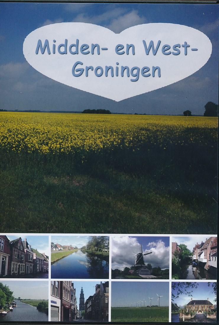 DVD Groningen - Midden en West   Nederland in Beeld