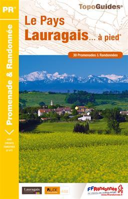Wandelgids P115 Le Pays Lauragais... à pied   FFRP
