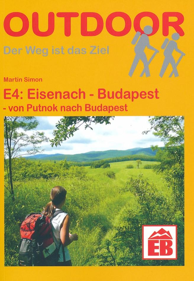 Wandelgids E4 Hongarije: Putnok - Budapest, Boedapest   Conrad Stein Verlag   Martin Simon