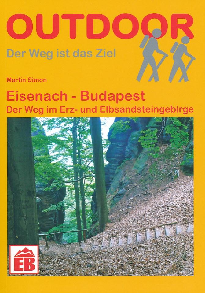 Wandelgids E4 Duitsland: Erz- en Elbsandsteingebirge   Conrad Stein Verlag