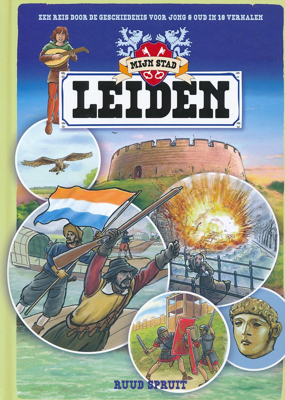 Reisgids Mijn stad, Leiden   Karakter uitgevers   Ruud Spruit
