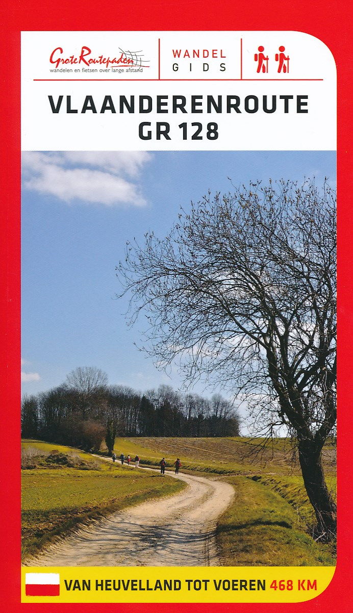 Wandelgids GR 128 Vlaanderenroute   Grote Routepaden