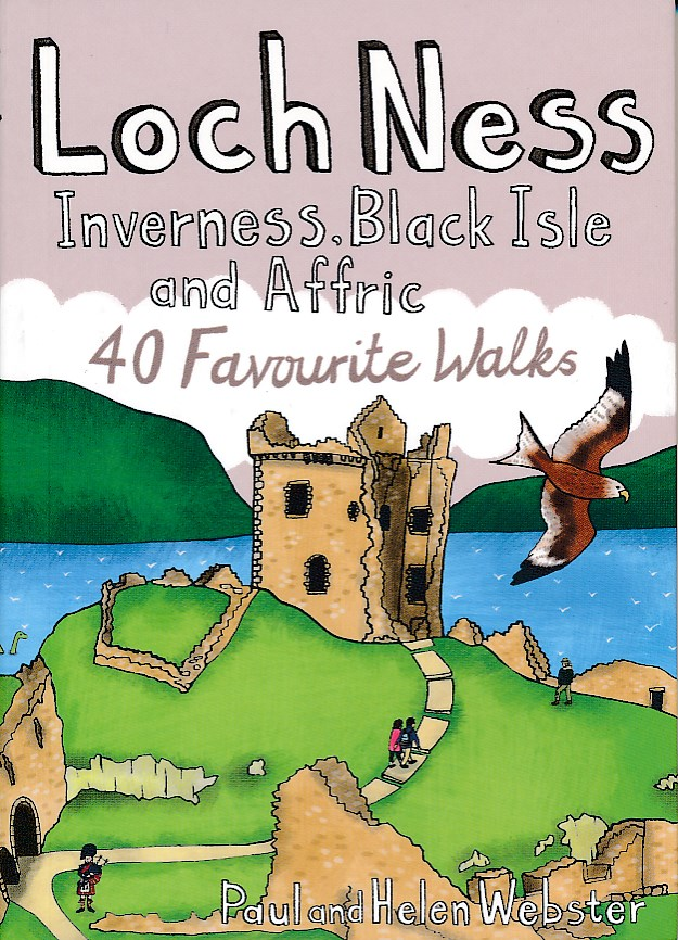 Wandelgids Loch Ness, Inverness, Black Isle and Affric   Pocket Mountains   Paul Webster,Helen Webster