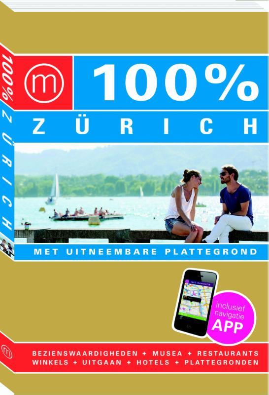 Reisgids 100% Zurich   Mo Media   Marie-Helene van Elten