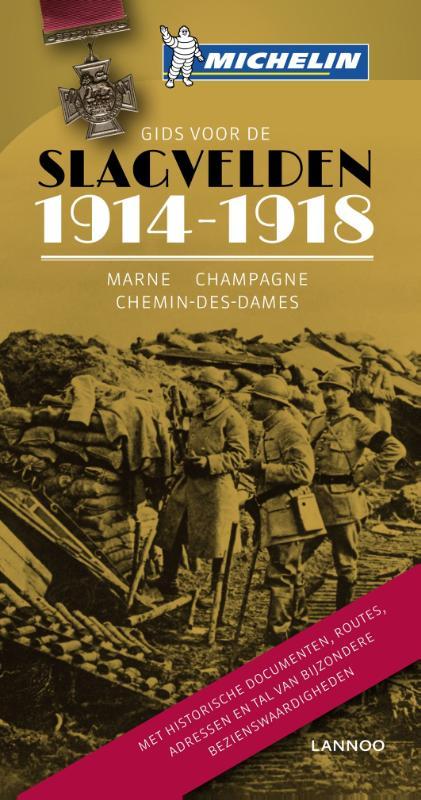 Reisgids Gids voor de Slagvelden 1914-1918    Michelin