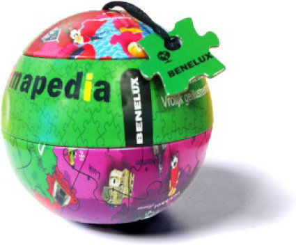 Legpuzzel Benelux 100 stukjes   Mapedia