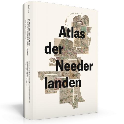 De Atlas der Neederlanden   Wbooks - Jan Werner   Jan W. H. Werner