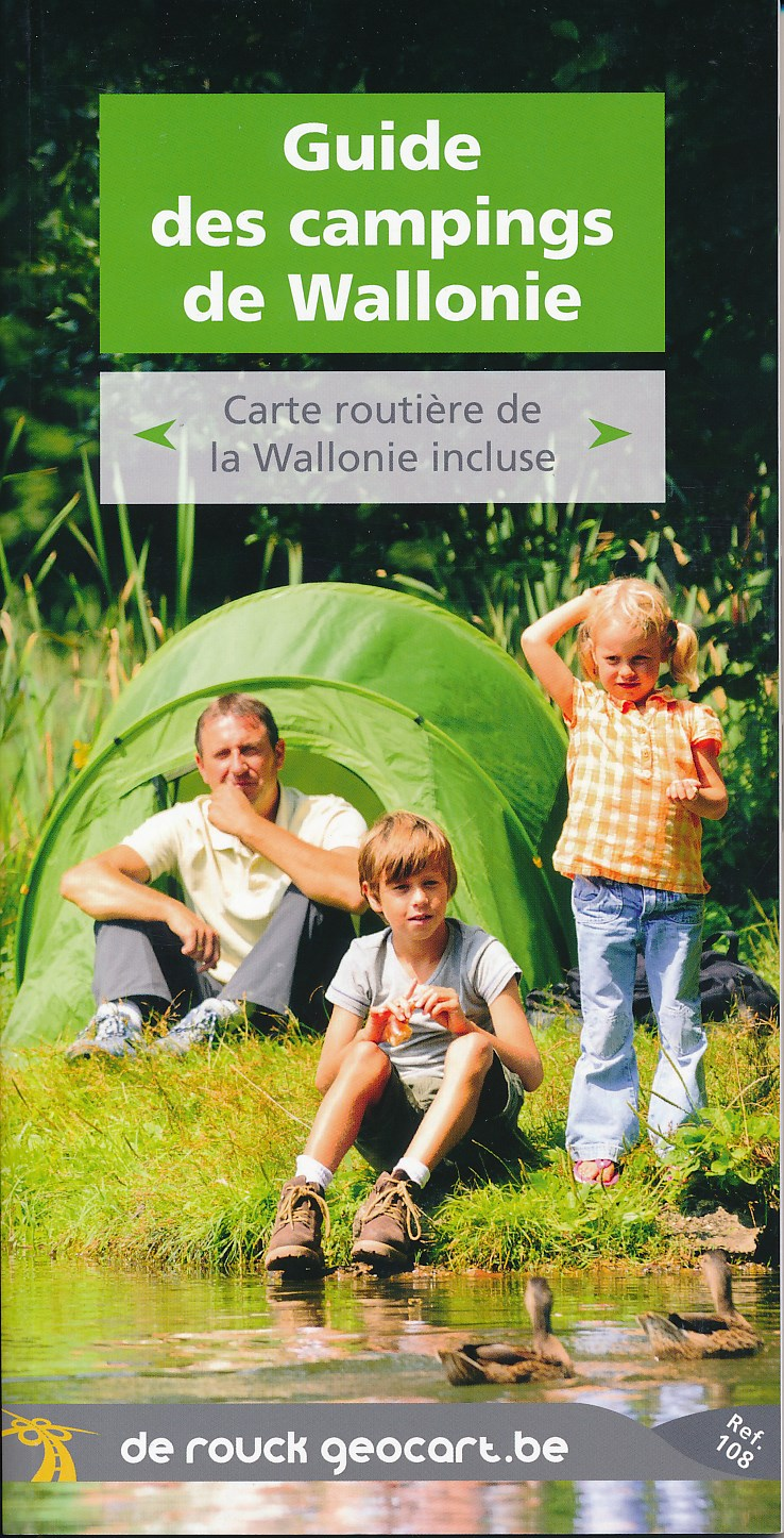 Campinggids Guide des campings de Wallonië   De Rouck