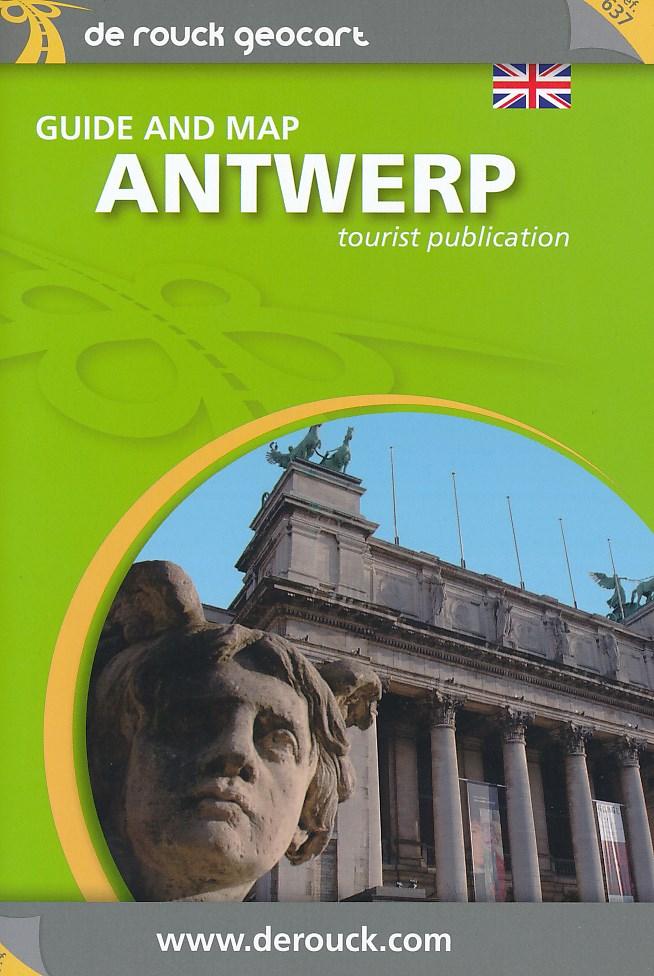 Stadsplattegrond - landkaart Antwerpen   Derouck