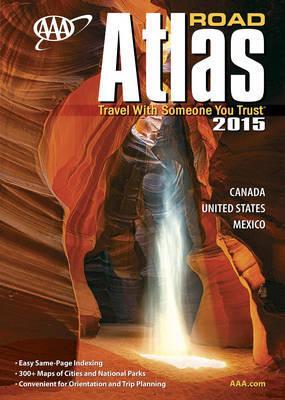Wegenatlas Canada, United States, Mexico Road Atlas 2015   AAA