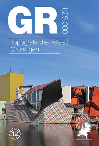 Topografische Atlas provincie Groningen   12 provincien
