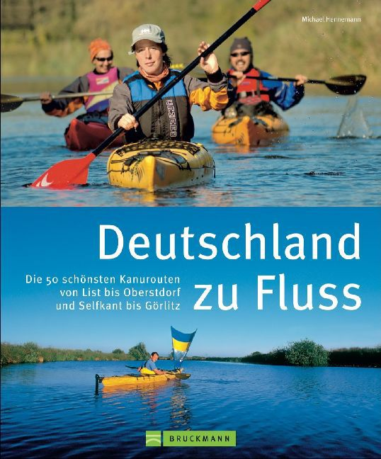 Kanogids Deutschland zu Fluss   Bruckmann