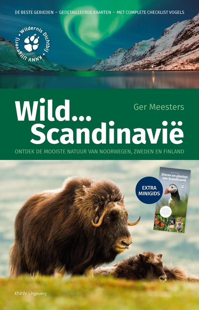 Natuurgids - Reisgids Wild kijken in Scandinavië   KNNV   Ger Meesters