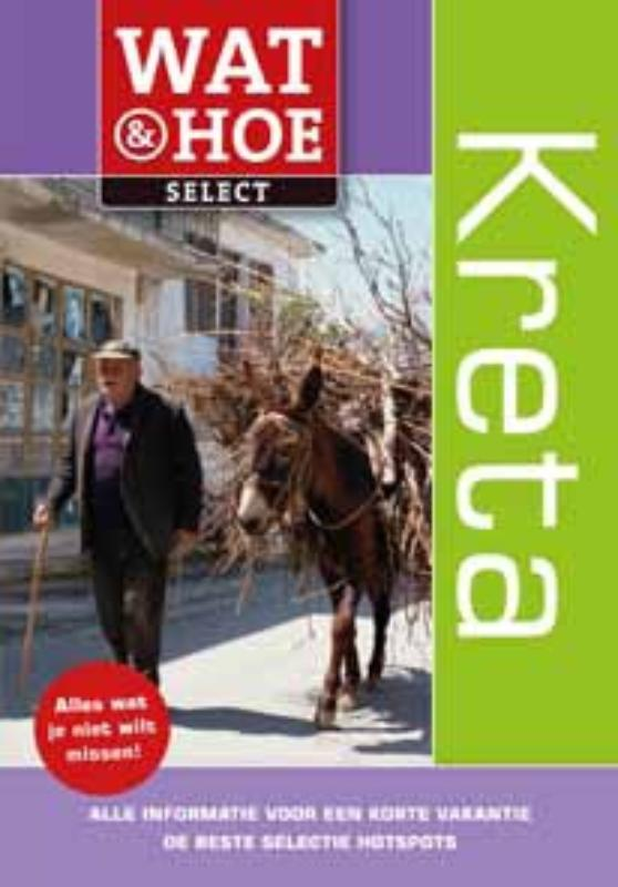 Reisgids Wat en Hoe Kreta select   Kosmos   Susie Boulton