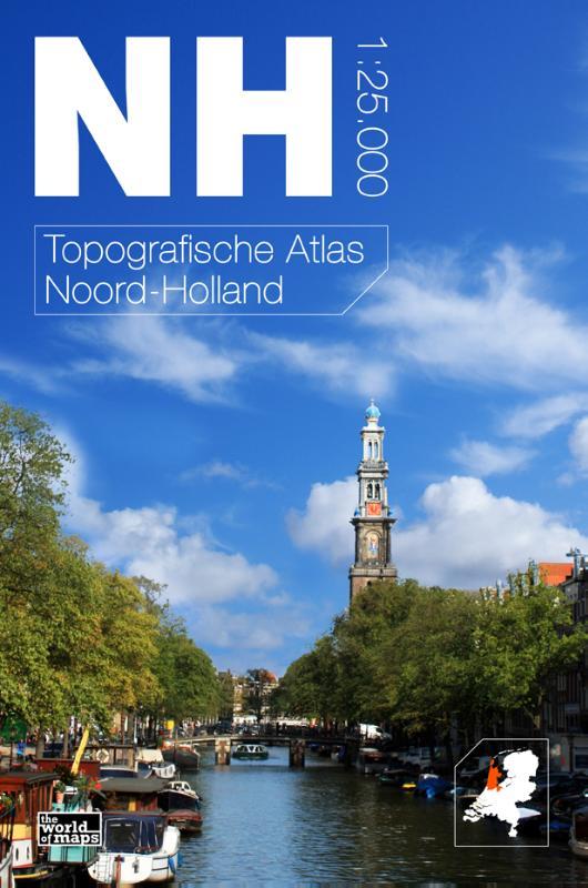 Topografische Atlas provincie Noord Holland   12 provincien