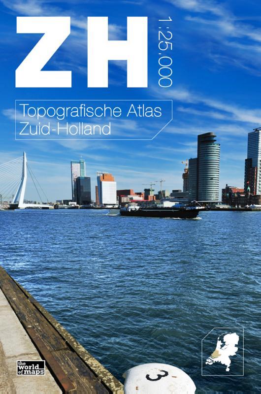 Topografische Atlas provincie Zuid Holland   12 provincien
