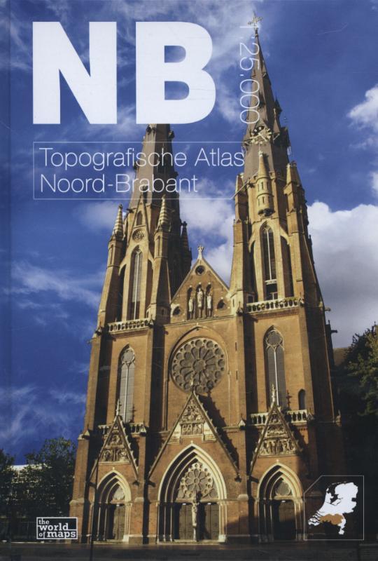 Topografische Atlas provincie Noord Brabant   12 provincien
