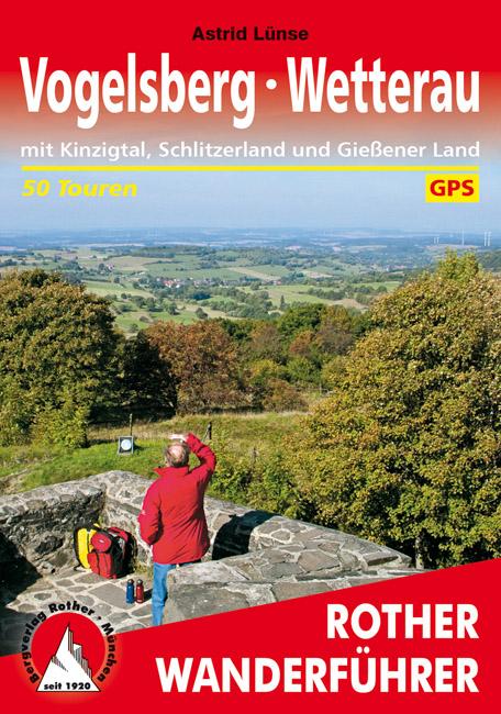 Wandelgids Vogelsberg � Wetterau   Rother verlag   Astrid L�nse