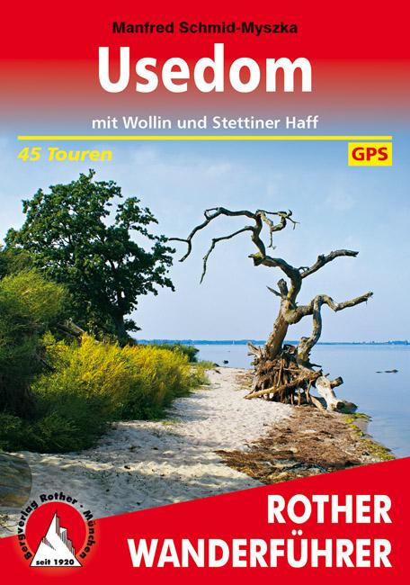 Wandelgids Usedom   Rother Verlag   Manfred Schmid-Myszka