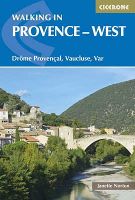 Wandelgids Walking in Provence - West   Cicerone   Janette Norton