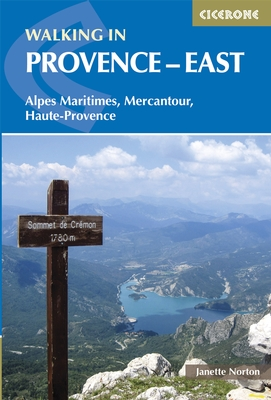 Wandelgids Walking in Provence - East   Cicerone   Janette Norton