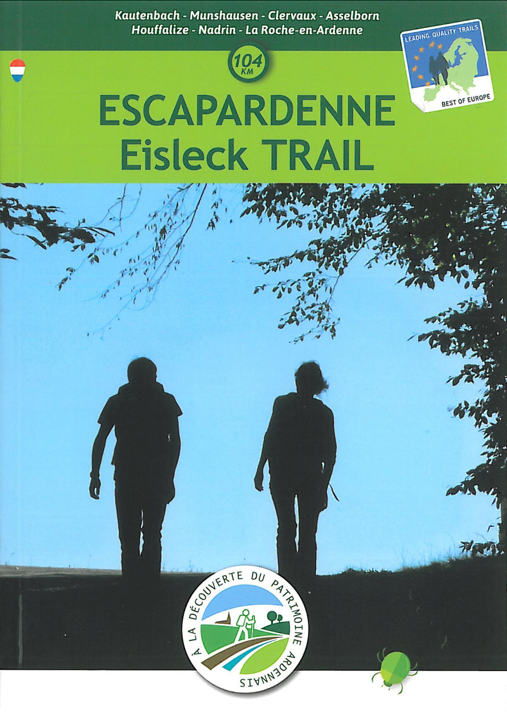Wandelgids Eisleck Trail - Escapardenne   Roularta Books