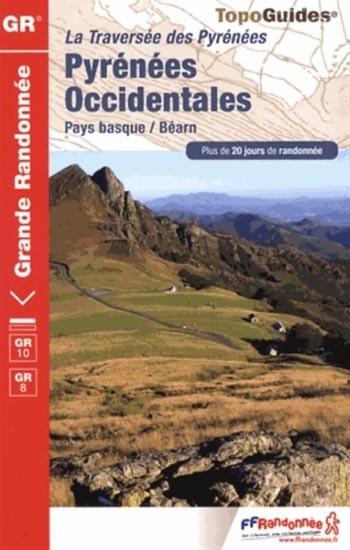 Wandelgids 1086 Traversée des Pyrénées Occidentales   FFRP