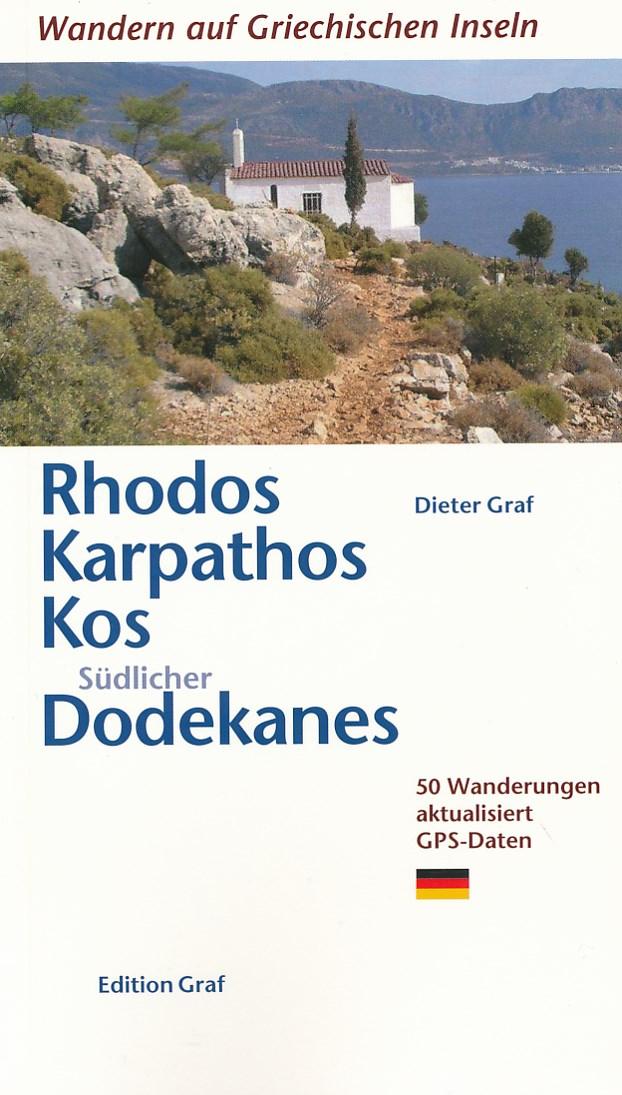 Wandelgids Rhodos, Karpathos, Kos, s�dlicher Dodekanes   Graf   Dieter Graf