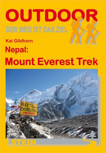Wandelgids Mount Everest Trek   Conrad Stein Verlag