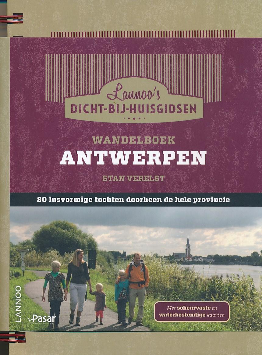 Wandelgids - Wandelboek provincie Antwerpen   Lannoo   Stan Verelst
