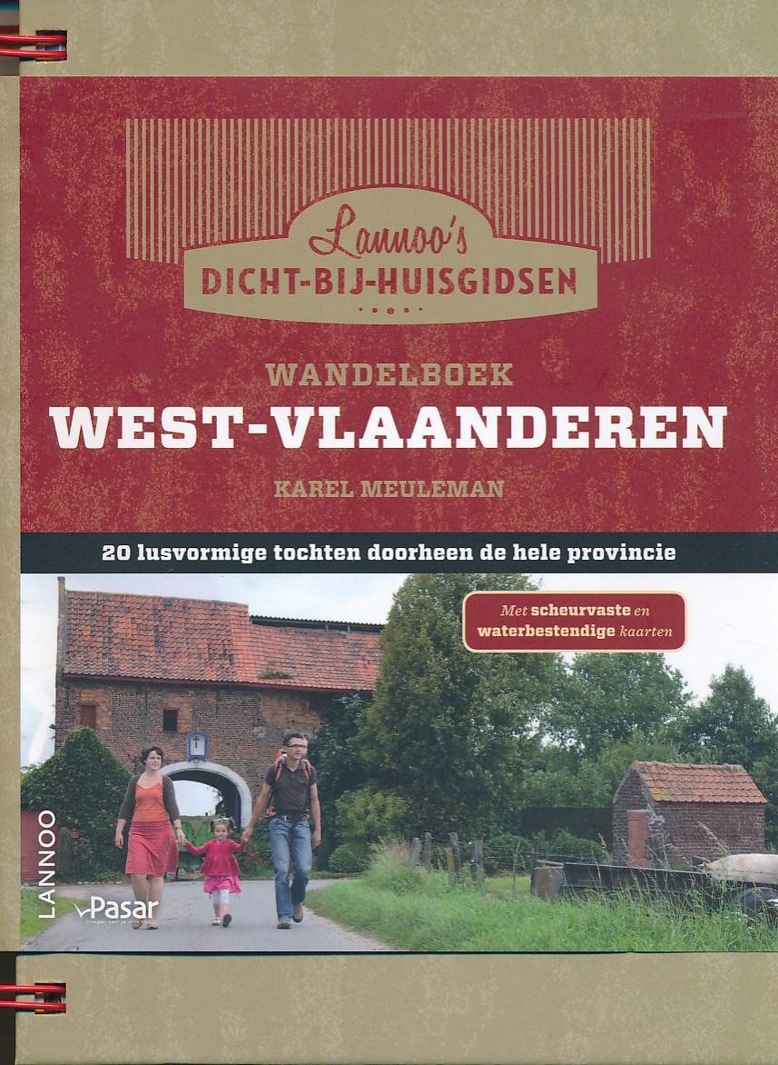 Wandelgids - Wandelboek provincie West Vlaanderen   Lannoo