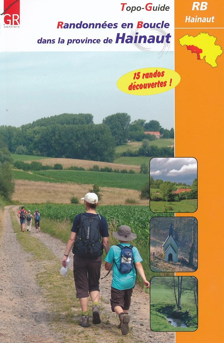 Wandelgids Randdonnees en Boucle dans la province de Hainaut   GR Sentiers