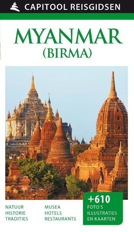 Reisgids Capitool Myanmar   Unieboek