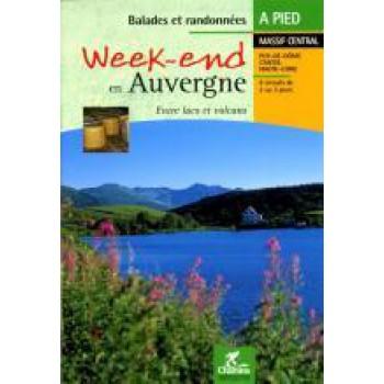 Wandelgids Week-end en Auvergne   Chamina