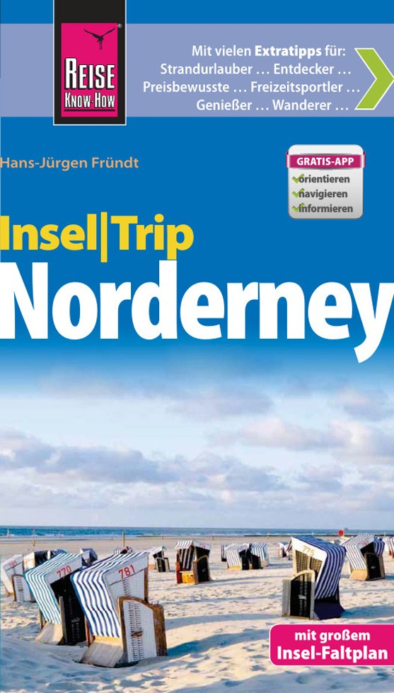 Reisgids InselTrip Norderney   Reise Know How