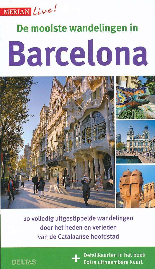 Wandelgids Merian Live De mooiste wandelingen in Barcelona   Deltas