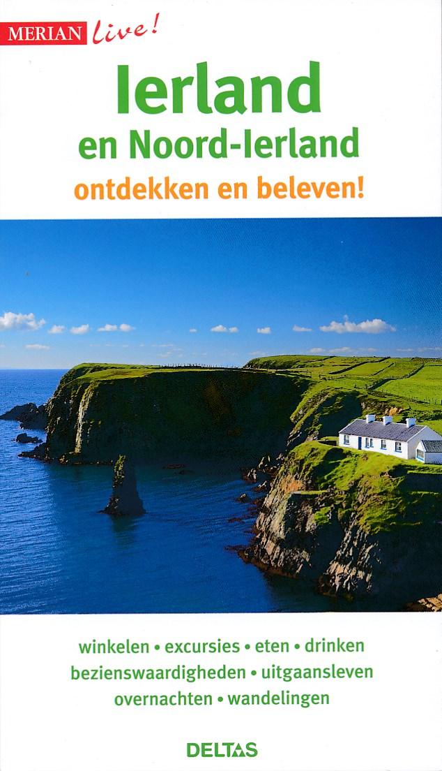 Reisgids Merian Live Ierland en Noord-Ierland   Deltas