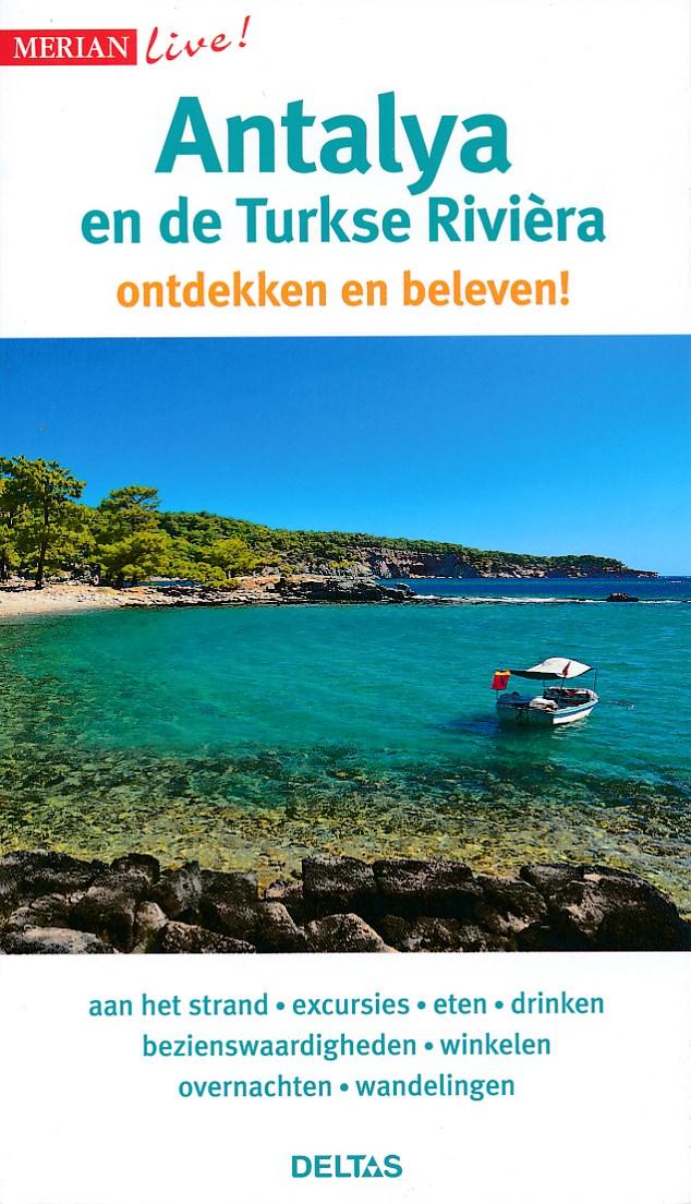 Reisgids Merian Live Antalya en de Turkse Riviera   Deltas