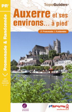 Wandelgids P891 Auxerre et ses environs... à pied   FFRP