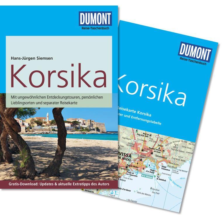 Reisgids Reise Taschenbuch Korsika - Corsica   Dumont