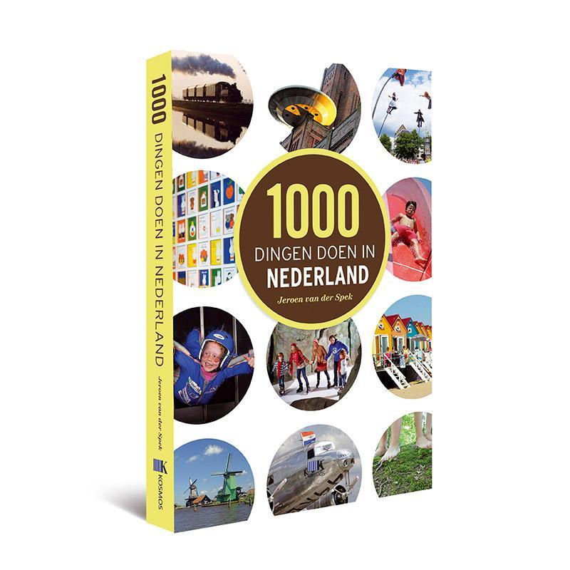 Reisgids 1000 dingen doen in Nederland   Kosmos