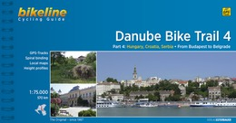 Fietsgids Danube Bike Trail 4 (Engels - Donau Radweg)   Bikeline