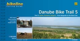 Fietsgids Danube Bike Trail 5 (Engels - Donau Radweg)   Bikeline