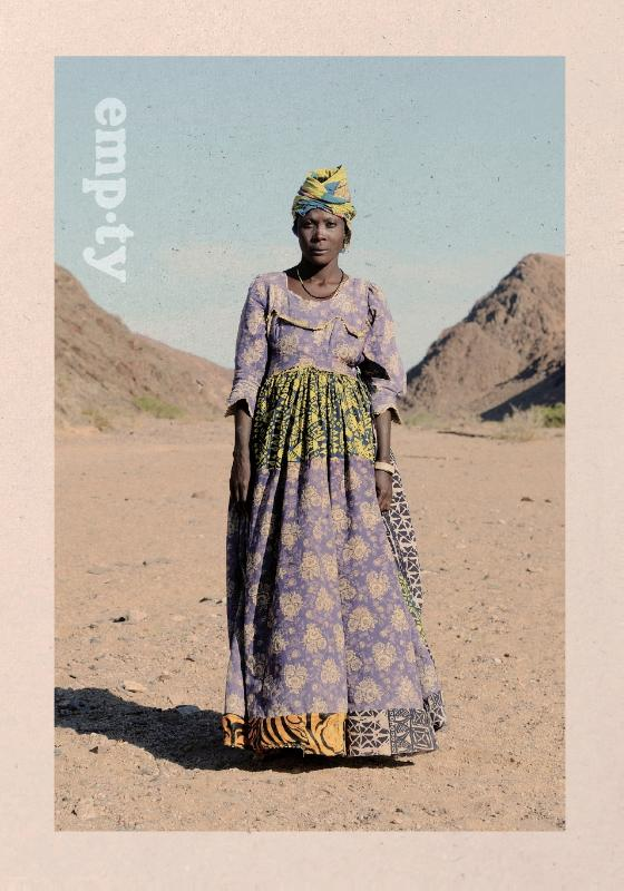 Fotoboek Empty - places and people of Namibia - Namibië   Thijs Heslenfeld