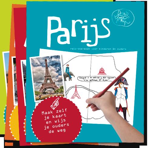 Kinderreisgids DrawYourMap Parijs   Link   Lisa van Gaalen