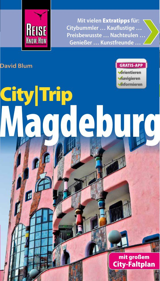 Reisgids CityTrip Magdeburg - Maagdenburg   Reise Know How   David Blum