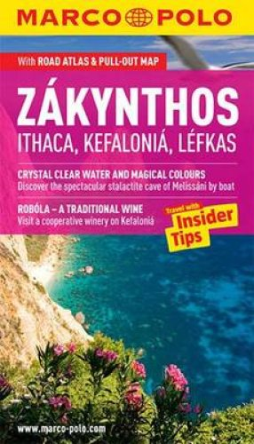 Reisgids Zakynthos, Ithaca, Kefalonia, Lefkas   Marco Polo (engels)
